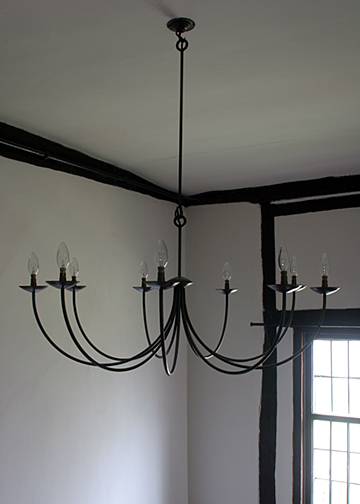 Quenby Nine Branch Chandelier CE9